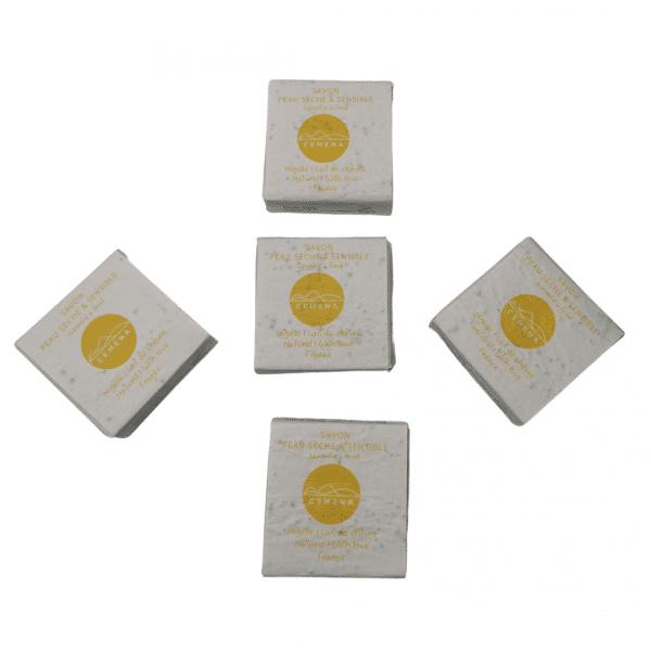 5 savons peau sèche