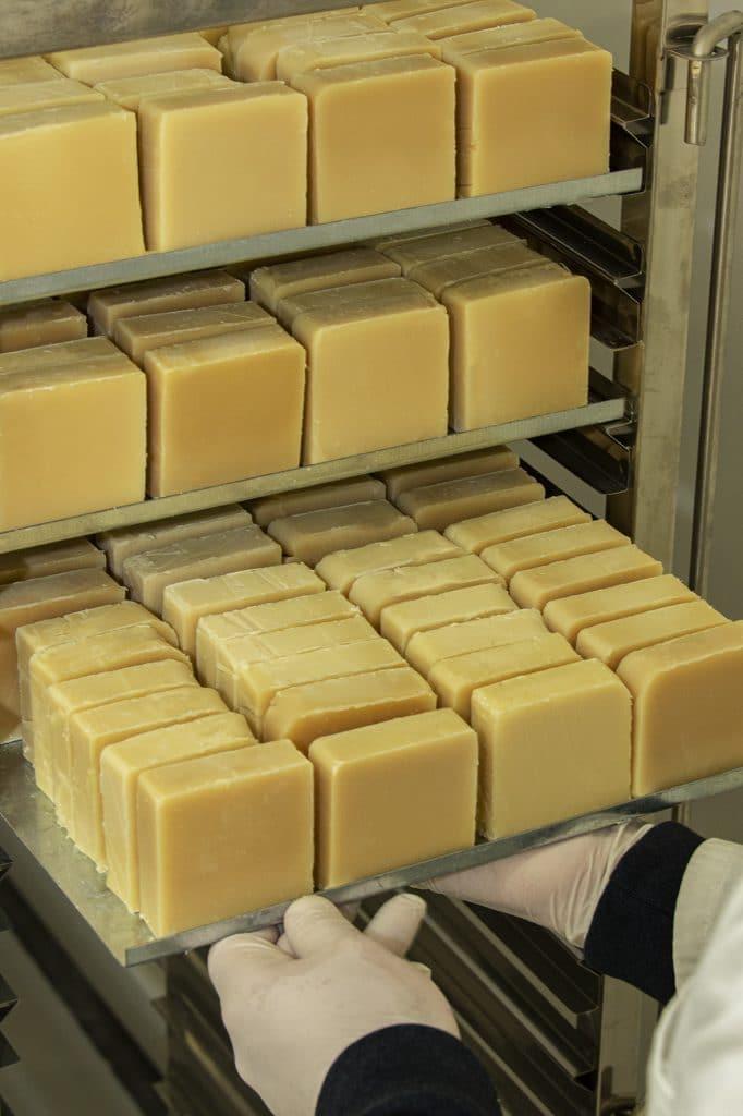 stockage savon